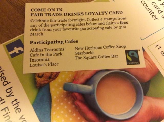 Fair Trade Drinks Trail 2018